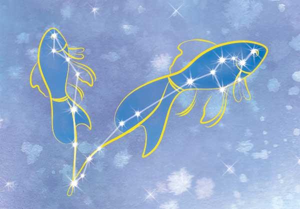 сузір'я риби фото